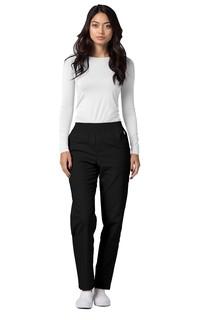 Adar Universal Classic Comfort Natural-Rise Tapered Leg Pants-