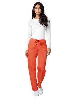504 Adar Universal Unisex Natural-Rise Drawstring Tapered Leg Pants-Adar Medical Uniforms