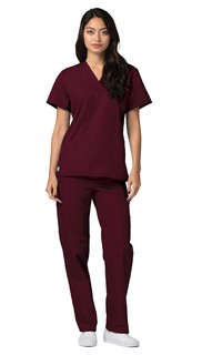 6011 Adar Universal Unisex V Neck Tunic 1 Pocket-Adar Medical Uniforms