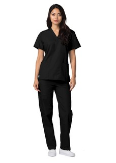 601 Adar Universal Unisex V-Neck Tunic 3 Pocket-Adar Medical Uniforms