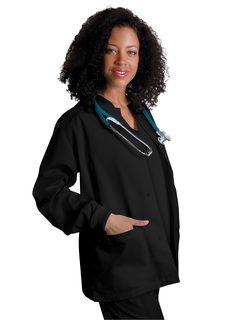 Adar Universal Round Neck Warm-Up Jacket-