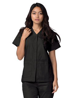 Adar Universal Double Pocketnap Front Top-Adar Medical Uniforms