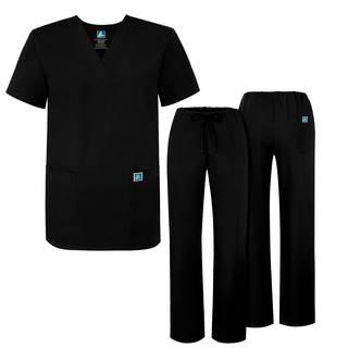 Adar Universal Unisex Drawstring Scrub Set-Adar Medical Uniforms