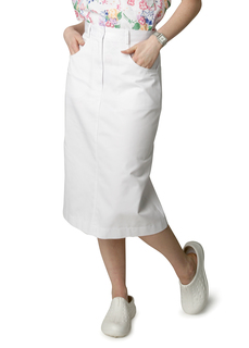 Adar Universal Jeans Skirt Twill-Adar Medical Uniforms