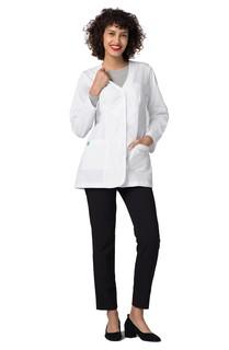 "Adar Universal 31"" Womens Princess V Neck Consultation Coat-Adar Medical Uniforms"