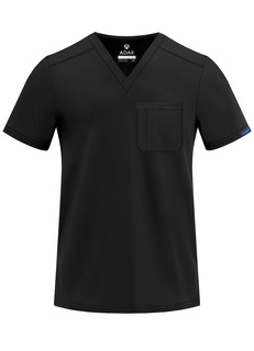 ADAR Addition ens Classic V-Neck crub Top-Adar Medical Uniforms