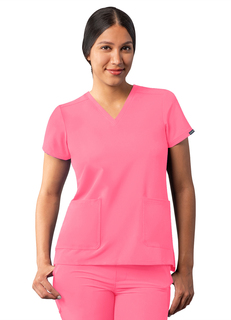 ADAR Addition Womensodern V-Neckcrub Top-Adar Medical Uniforms