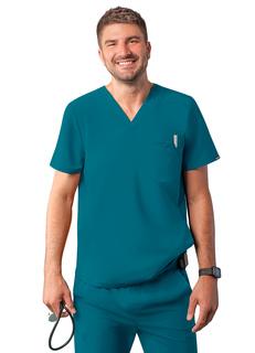 ADAR Additionensodernulti-pocket V-Neckcrub Top-Adar Medical Uniforms