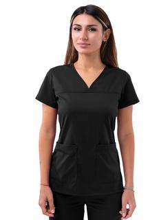 ADAR Pro Womensweetheart V-neckcrub Top-