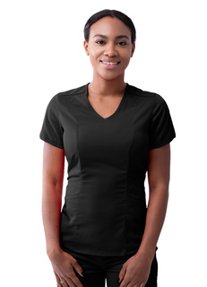 Adar Pro Womens Tailored V-Neck Top-