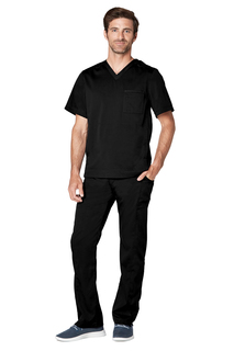 Adar Resoponsive Mens Active V-Neck Top-Adar Medical Uniforms