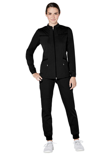 Adar Resoponsive Womens Active Warm Up Jacket-Adar Medical Uniforms