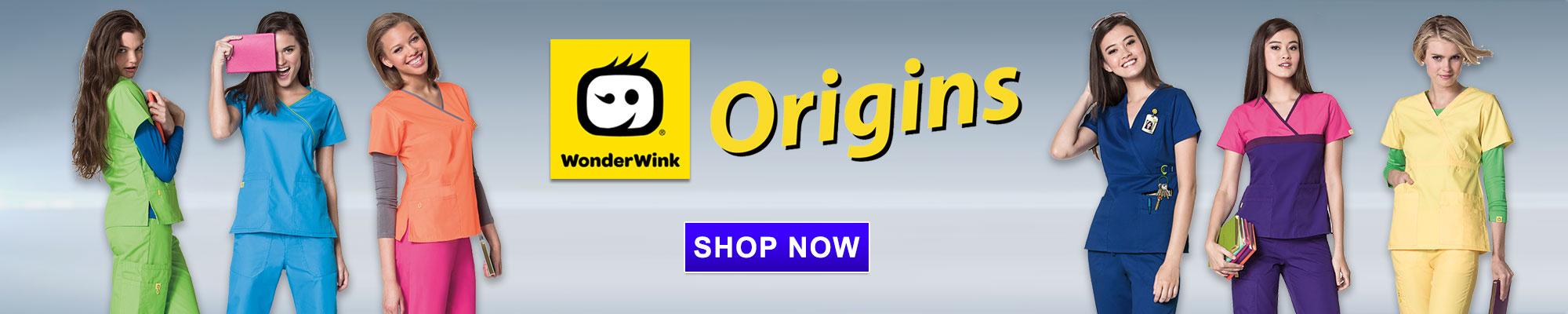 Shop Wonder Wink Origins Scrub apparel