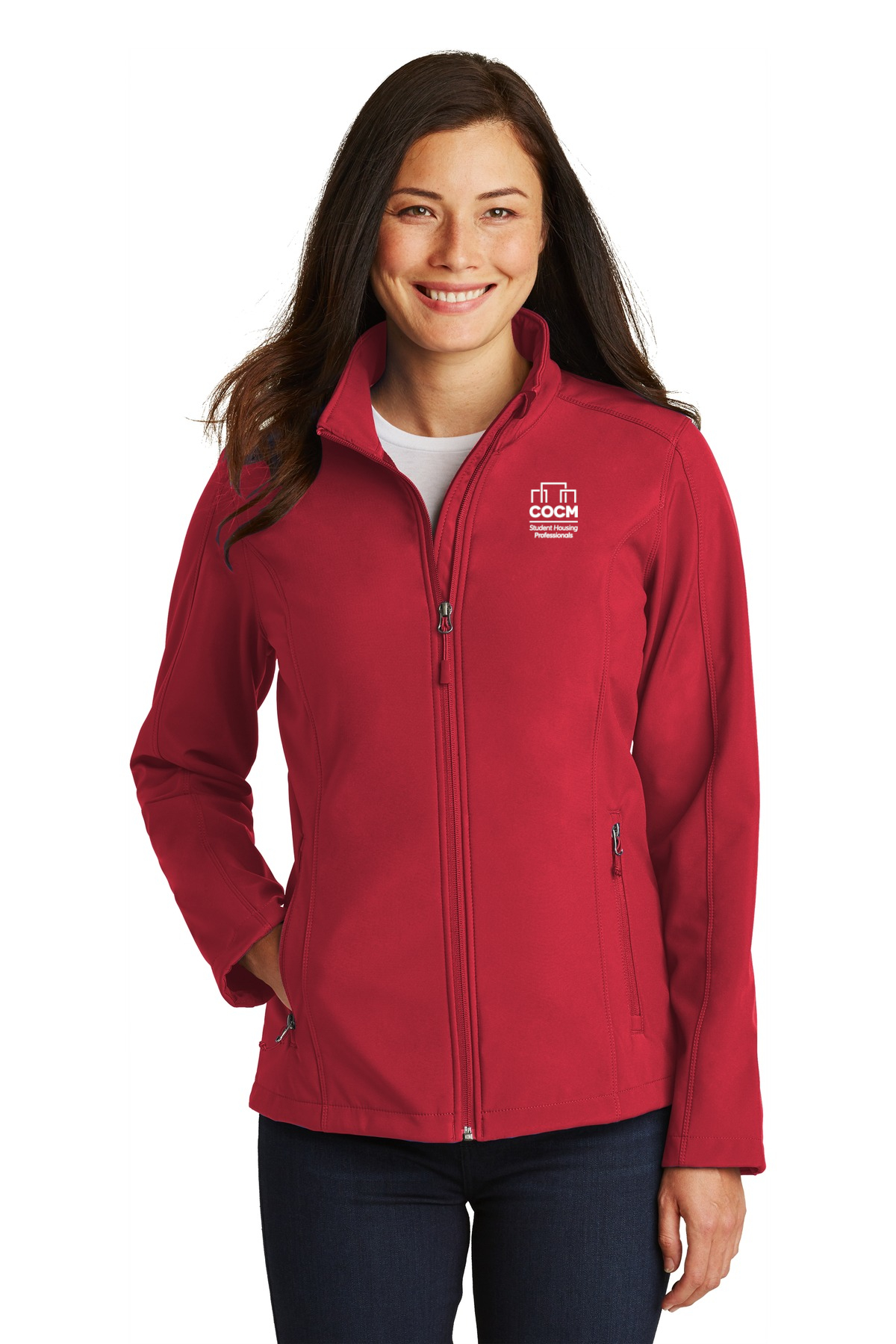 Port Authority® Ladies Core Soft Shell Jacket (with Logo)-