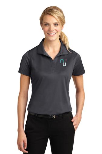 Sport-Tek® Ladies Micropique Sport-Wick® Polo with Logo-Sport-Tek