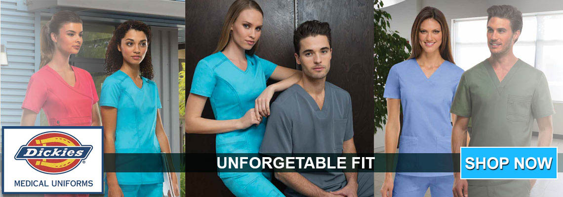 Click here for Dickies Medical Gen Flex apparel
