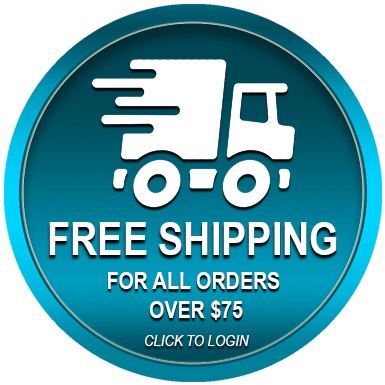 Free Shipping for all orders over $75