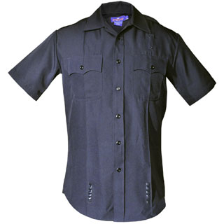LAPD Style Men's Short Sleeve Performance Duty Shirt-Spiewak