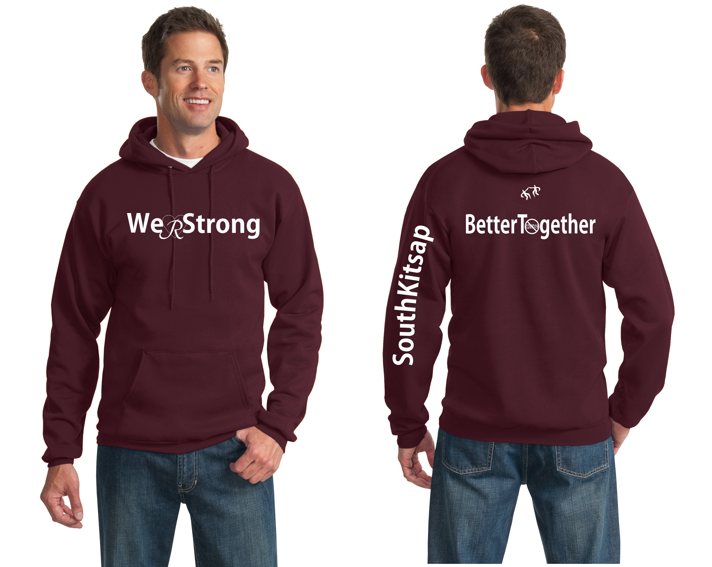 WeRStrong Pullover Hooded Sweatshirt-