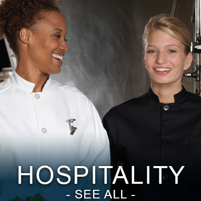 View All Hospitality Uniforms