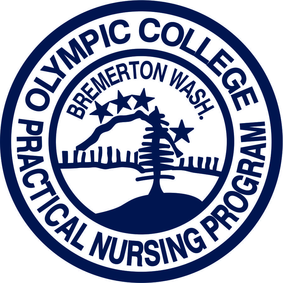 Olympic College LPN patch-