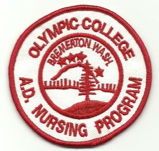 Olympic College RN patch-