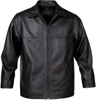 LRX-4 Mens Classic Leather Jacket-StormTech