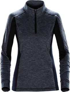 StormTech Performance Fleece Technical Performance Fleece SPR-1W Womens Lotus 1/4 Zip-StormTech