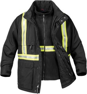 TPX-2R Mens Explorer 3-in-1 Reflective Jacket-