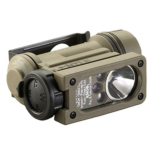 "Sidewinder Compact Ii Multi-Battery Multi-Source Hands-Free Flashlight Includes Nvg Mount (Works With Hgu-84 Rotary Wing Aircrew Helmet) And One ""Aa"" Alkaline Battery-"