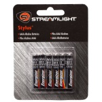 "Aaaa Batteries "" 6 Pack-Streamlight"