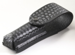 "Leather Holster: Basketweave Pattern "" Strion Series, Protac Hl-"
