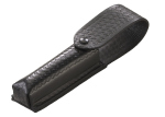 "Leather Holster: Basketweave Pattern "" Stinger Led/Polystinger Led Series-"