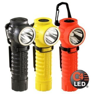 "Polytac 9"" With Gear Keeper And Lithium Batteries "" Orange-Streamlight"