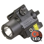 Tlr-4 Compact Rail Mounted Tactical Light With Laser Sight-