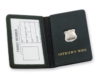 Family Member Badge Case - Duty-Strong Leather