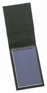 Top Open Pad Holder - Dress-Strong Leather