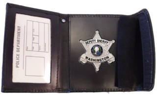 Recessed Badge Case - Dress-Strong Leather