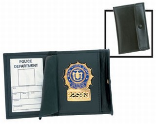 Snap - Recessed Badge Case - Dress-Strong Leather