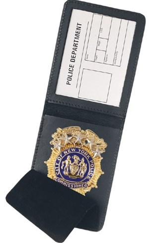 Top Opening Badge Case - Duty-Strong Leather