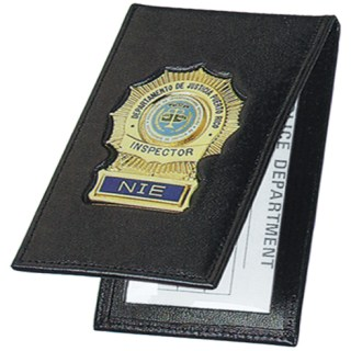 76500_Outside Badge Mount Case - Dress-Strong Leather