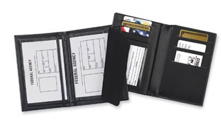 Double ID and Credit Card Case - Dress-Strong Leather