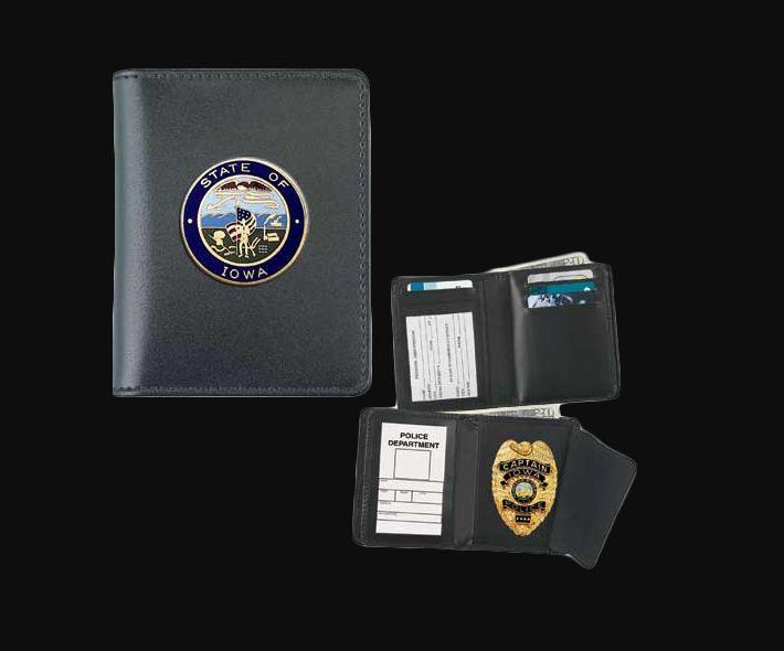 Deluxe Hidden Badge Wallet for your Challenge Coin - Dress-
