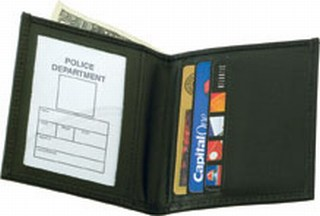 Bi-fold Credit Card Wallet - Dress-Strong Leather