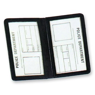 Side Open Double ID Case - Duty-Strong Leather