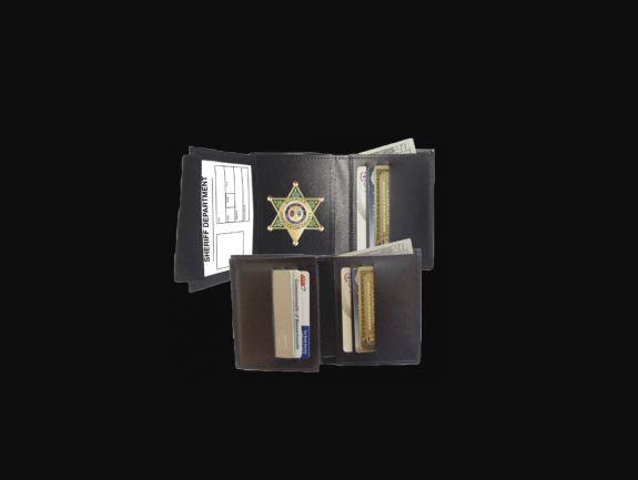 DeluxeHidden Badge Wallet-