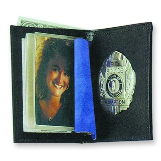 Bi-fold Badge Wallet - Duty-