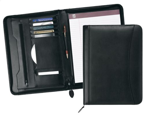 Zipper Portfolio-Strong Leather