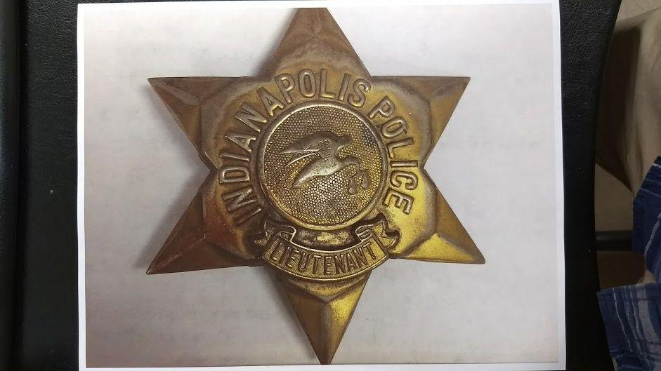 IMPD 5 Point Badge-Uniform House