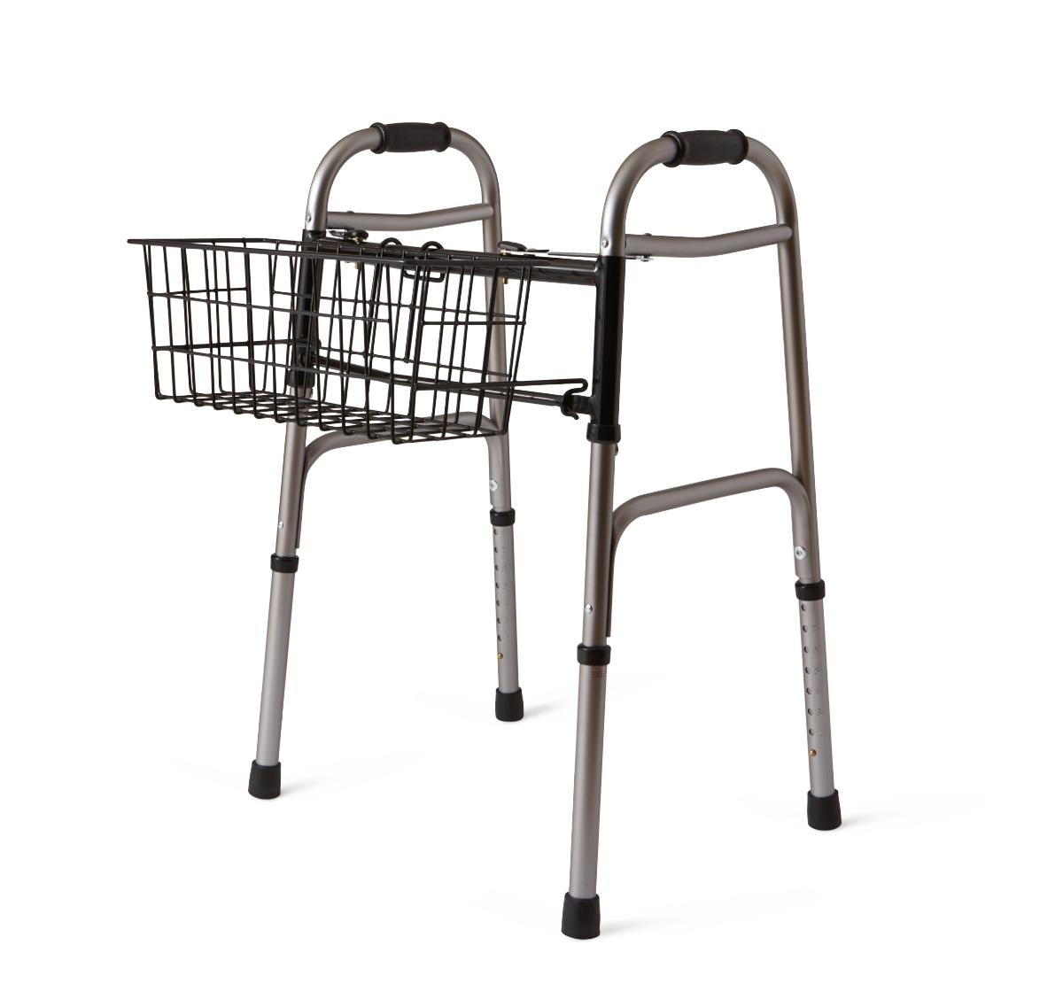 Basket for 2-Button Walkers-Medline